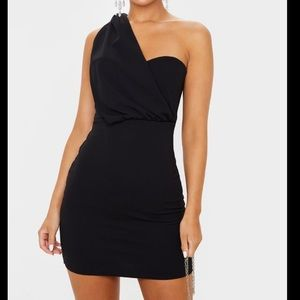 Pretty Little Thing One Shoulder Dress